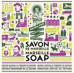 2013. Capitale européenne. Compagnie de Provence. Savon.