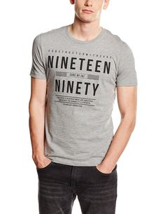 JACK & JONES Herren T-Shirt Jcocant TEE SS Crew Neck: Amazon.de: Bekleidung