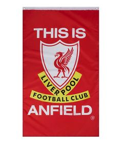 Liverpool FC 'This Is Anfield' Flag