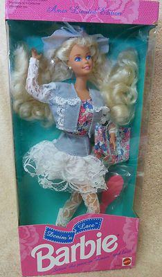 Barbie Denim'n Lace Ames Limited Edition New in original box