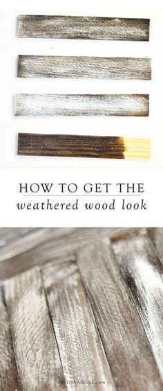 handmade home decor Using a rustic finish on your DIY projects will give your space a farmhouse-style look. Here, you will learn how to get the weathered wood look to add a special touch to your home decor. Diy Home Decor Rustic, Handmade Home Decor, Rustic Wood Decor, Rustic Farmhouse Decor, Farmhouse Signs, Farmhouse Ideas, Rustic Livingroom Ideas, Farmhouse Living Room Decor, Living Room Wall Ideas