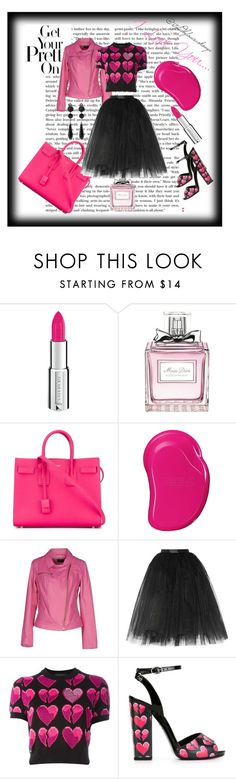I love you... by louisaokonye on Polyvore featuring Philipp Plein, B&W, Ballet Beautiful, Yves Saint Laurent, Givenchy, Christian Dior, Topshop #skirt #leather #fashion