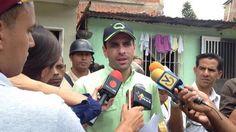 Capriles El revocatorio es un derecho que no puede quedar en letra muerta - Noticia al Dia