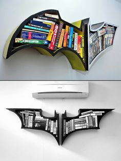 My brother would love and hate this: It's Batman but yet he couldn't quite put it in alphabetical order....