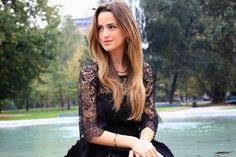 Corriere della moda: Gresy for Queriot Jewelsblogger fashion beautiful moda italy jewellery luxury design art black dress