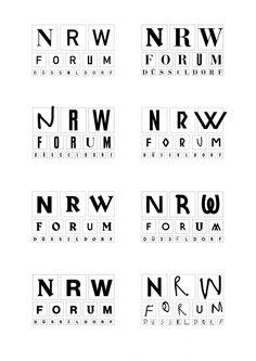 NRW-Forum Logos, KesselsKramer, 2015