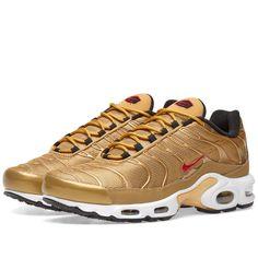 b5124edcf3e0e5 Nike Air Max Plus QS Metallic Gold