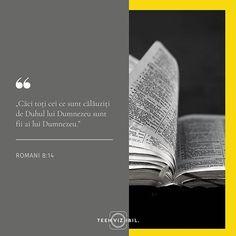 Dumnezeu ne-a dat dreptul acesta extraordinar de a fi fii ai Lui. Mai mult de atât ne-a dat și unealta prin care ne putem menține acest statut: Duhul Sfânt. Întreabă-te azi: De ce duh sunt călăuzit? Îl las eu pe Duhul Sfânt să Își facă lucrarea de transformare în viața mea? Pot eu să îi spun Ava lui Dumnezeu? În dragostea lui de Tată te așteaptă ascultă șoapta Duhului și alege să trăiești liber. #teenvizibil #faith #hope #verset Leo Zodiac Facts, Pisces Zodiac, Francis Chan, Stay Strong Quotes, Moise, New Beginning Quotes, Friendship Day Quotes, Beth Moore, Teen Quotes