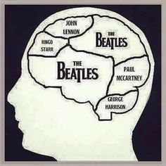 """""""This is your brain on The Beatles......."""" :-)"""