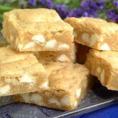 White Chip Island Blondies