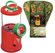3-D-Becherlupe für Kinder ab 5 Jahren mit Pinzette zum anschauen von Insekten | 6872 / EAN:08006944803006