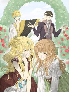 Anime Couples Manga, Chica Anime Manga, Kawaii Anime, Anime Art, Queen Anime, Anime Princess, My Princess, Manga Story, Familia Anime