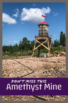 Hunting for amethysts in Ontario, Canada is so much fun! Find out more about our day at Panorama, a Thunder Bay Amethyst Mine. Ontario, Grand Marais, Rock Hunting, Picnic Time, Travel Oklahoma, Lake Superior, New York Travel, Amazing Adventures, Canada Travel