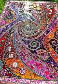 mozaiek koffietafel