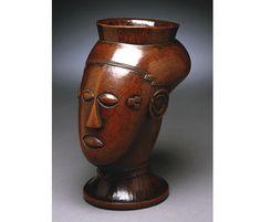 Kuba Palm Wine Cup  D.R. of Congo  Kuba peoples  Wood  Early 20th century