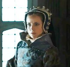 Mary I Of England, Burgundy, Wine Red Hair, Amaranth Grain