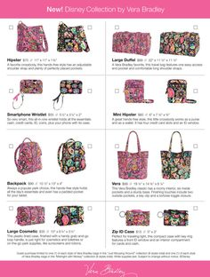 New details revealed about the Disney by Vera Bradley launch party!