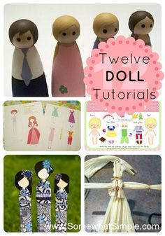 12 Dolls to Make Yourself