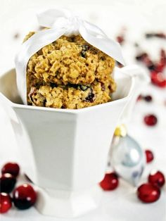 Cranberry Orange Oatmeal Cookies Recipe | Entertaining Ideas & Party Themes for Every Occasion | HGTV