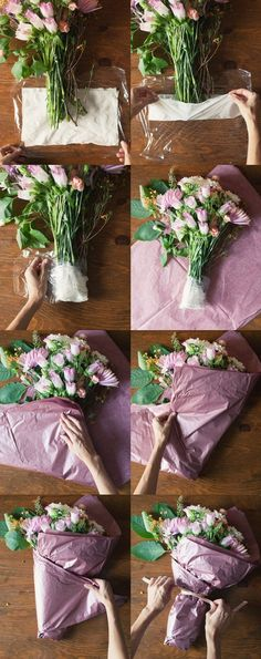 3 ways to arrange fresh spring flowers