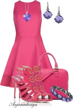"""""""Ted Baker Dress"""" by arjanadesign ❤ liked on Polyvore"""