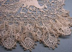 Crochet Lace Italian Needlework: Aemilia Ars needle lace from Bologna - absolutely gorgeous laces Needle Lace, Bobbin Lace, Antique Lace, Vintage Lace, Irish Crochet, Crochet Lace, Thread Crochet, Easy Crochet, Lace Embroidery