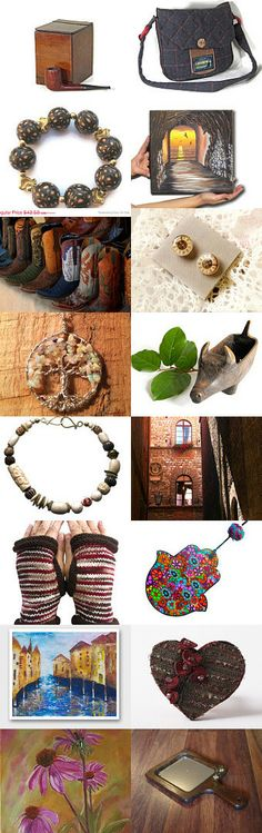 December's brown... by greek mythos on Etsy--Pinned with TreasuryPin.com