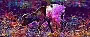 """New artwork for sale! - """" Goat Wildpark Poing Young Animals  by PixBreak Art """" - http://ift.tt/2vCC4u2"""