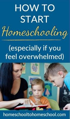 Learn 5 key tips to help you feel less overwhelmed as you begin homeschooling any age -- from preschool and kindergarten all the way up to middle school and high school. Homeschooling In Texas, How To Start Homeschooling, Homeschool Kindergarten, Homeschool Curriculum, Preschool, Catholic Homeschooling, World History Lessons, Singapore Math, Middle School