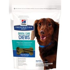 Hill's Prescription Diet Dental Care Chews Size Small Dog Treats, 12 oz bag (Pack of 2) -- Want to know more, click on the image. (This is an affiliate link and I receive a commission for the sales)