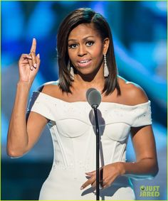 """Michelle Obama Gives Inspiring Speech at Black Girls Rock 2015. """"To all the young women here tonight, and all across the country, let me say those words again: Black girls rock!"""" Obama declared. """"We rock! We rock! No matter who you are, no matter where you come from, you are beautiful, you are powerful, you are brilliant, you are funny! And we have such big hopes and dreams for every single one of you."""""""