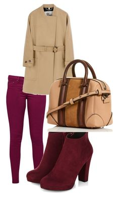 """Untitled #165"" by amna-hakeem on Polyvore featuring Great Plains and Burberry"