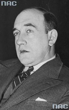 Leon Schiller, 1931, fot. Jan Binek / Narodowe Archiwum Cyfrowe / www.audiovis.nac.gov.pl