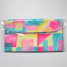 Hand Painted Clutch