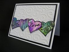 Easy Valentines card--