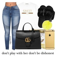 """this something i would wear"" by young-tiller ❤ liked on Polyvore featuring Gucci and Jaeger"