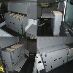 EXPEDITION CABINET W/ SLIDE TABLE, STORAGE LOCKER RNA714, RNA718 - Rovers North - Classic Land Rover Parts