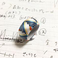 Thread Jewellery, Silk Thread, Jewelry Rings, Japanese, Decoration, Crochet, Design, Decor, Japanese Language