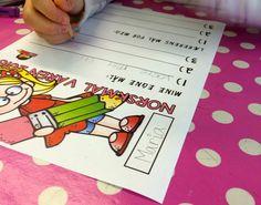Teaching FUNtastic: La elevene bestemme målene! Bullet Journal, Teaching, Teaching Manners, Learning