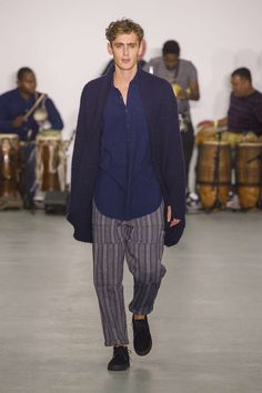 Oliver Spencer Fall-Winter 2016 Collection