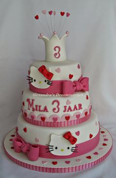 Hello kitty taart / cake