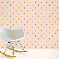 Diamonds Removable Wallpaper Half Kit is peel and stick. Easy to remove without damaging your walls. Kids Room Wallpaper, Vinyl Wallpaper, Peel And Stick Wallpaper, Pattern Wallpaper, Contemporary Wallpaper, Colorful Wallpaper, Geometric Wallpaper, Decoration, Art Decor