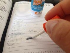Corretivo (ou branquinho, errorex, liquid paper). | 23 cheiros que vão te levar de volta à infância