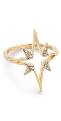 Elizabeth and James Northern Star Open Star Ring  SHOPBOP   Save up to 25% Use Code BIGEVENT13