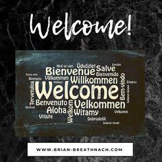 Welcome! | Brian Breathnach Blog