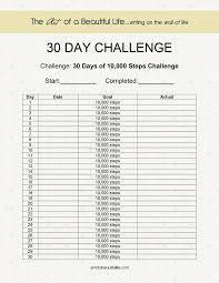 Image result for 30 days walking challenge