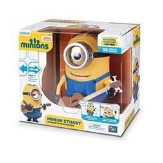 Despicable Me Talking Minion Toy - Stuart $9.98 at Target with free ship to store #LavaHot http://www.lavahotdeals.com/us/cheap/despicable-talking-minion-toy-stuart-9-98-target/117541