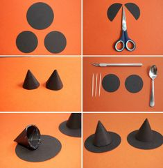 Костюм ведьмы на Хэллоуин своими руками - шляпа для ведьмы