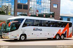Ônibus da empresa Expresso Maringá, carro 5601, carroceria Marcopolo Paradiso G7 1200, chassi Mercedes-Benz O-500RSD. Foto na cidade de Cascavel-PR por Flávio Oliveira, publicada em 04/11/2016 13:05:41.