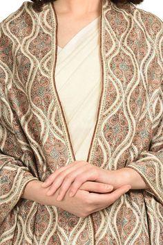 Designer Dress For Men, Simple Pakistani Dresses, Kashmiri Shawls, Dress With Shawl, Kurta Designs Women, Kurti Designs Party Wear, Cashmere Shawl, Pashmina Shawl, Brocade Fabric